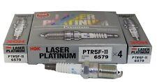 6 Pack NGK 6579/PTR5F-11 Laser Platinum Premium Spark Plugs