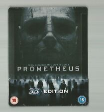 PROMETHEUS - UK EXCLUSIVE 3D EDITION BLU RAY STEELBOOK - NEW+SEALED