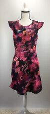ABS Collection Flutter Sleeve Sheath Dress Size 10 (H594)