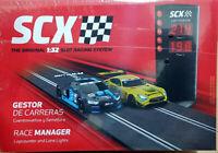 Gestor de carreras Scalextric semaforo y cuentavueltas A10282X100