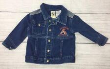DISNEY MICKEY & CO Blue 100% Cotton Denim Jean Jacket Boys Size 12M