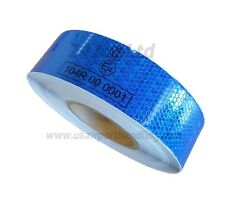 EC 104 -R BLUE REFLECTIVE CONSPICUITY TAPE 50mm x 25M METERS