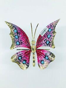 Mariposa Decorativo para Colgar O Lugar de Hierro Colorido