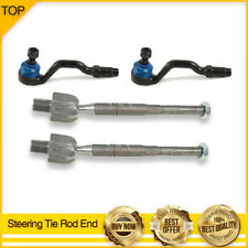 4PCS Steering Tie Rod Ends INNER & OUTER for 2004-2010 BMW X3 E83 Body Code