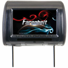 "FARENHEIT 9"" LCD Screen Headrest Monitor w/ IR Wireless Connection | HR-91CC"
