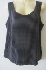 Mela Purdie Select striped top, AUS size 20, pre loved