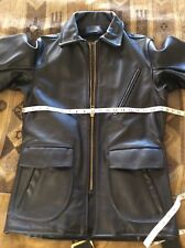 NEW w/o tag Vanson Leathers Leather Car Coat Size 36 Made In USA