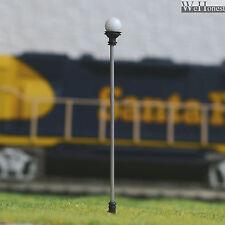 10 x HO OO Gauge Model Train Lamps Railway Lamp posts Led Street Lights #C107