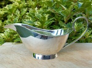 Vintage Small Silver Plate Gravy or Sauce Boat (Ref. 1874/12)