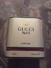Gucci No 3 Reines PArfum 7,5 ml Neu mit Originalkarton