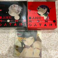Used BAKEMONOGATARI Key Animation Note Art Book Prologue Vol 1 & 2 Set Anime