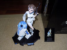 GENTLE GIANT, STAR WARS PRINCESS LEIA MAQUETTE, #6,196 OF 8,500 WITH CERT. & BOX