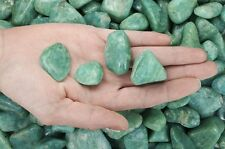 1/2 Pound Tumbled Amazonite - 'AAA' Grade -Wire Wrapping, Reiki, Crystal Healing