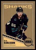 2019-20 OPC Platinum Retro Golden Treasures #R-19 Erik Karlsson 1/1