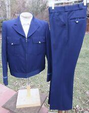 Vintage 1970s GREYHOUND BUS Driver Uniform 42L 36x31 - Rare Find in XLNT COND
