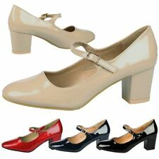 Buckle Mary Janes Med (1 in. to 2 3/4 in.) Heels for Women