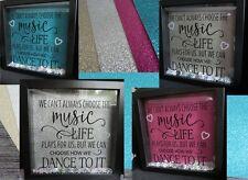 Glitter Backing Sheet for Box/Memory Frames Pink, Gold, Silver, Teal, Black
