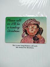 TK 363a Telephonkarte/Phone Card 1993 NYC Exclusive Christmas: 'Please Call or
