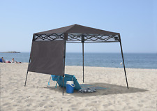 Shelter Logic Quik Shade Compact 6' X 6' Charcoal Gray Backpack Canopy 167520