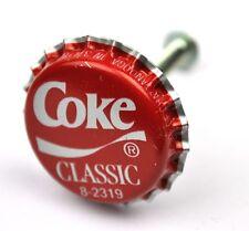Coca-Cola Coke Classic USA tiroirs Bouton capsules Poignée Graveur éclair pulls