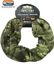 Kombat Tactical Snood BTP Black Green Head Neck Warmer Scarf Camo MTP Multicam