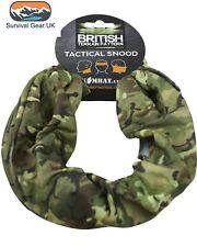 Kombat Tactical Snood BTP Black Green Head Neck Warmer Scarf Camo MTP Multicam