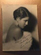 Lina Basquette Rare Early Vintage Original Autographed 8/10 Godless Girl 1929