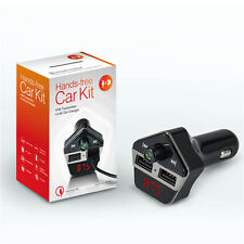 Car Kit Wireless Bluetooth FM Transmitter MP3 Player Handsfree For iPhone 6 HTC