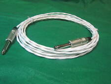 15 Ft Silver plated MIL-Spec Guitar Amp Speaker Cabinet Cab Lead wire Cable.