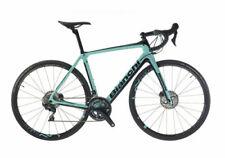 Bicicletas verdes de fibra de carbono