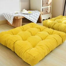 HIGOGOGO Floor Pillow, Square Meditation Pillow for Seating on Floor Solid Thick
