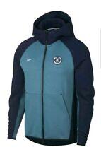 Mens Nike Chelsea Football Club Hooded Tracksuit Medium Blue