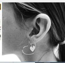 Set Sale! Get In 2-3 Days! New Earrings Women's Heart Heart Ear Ring