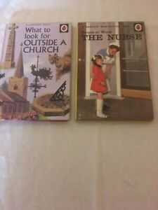 Ladybird Book, the nurse / what to look for outside a church