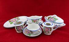 8 Pc Child's Porcelain Tea & Dish Set Japan