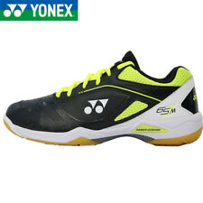 NEW YONEX POWER CUSHION SHB65ZM EX BADMINTON SQUASH INDOOR SHOES BLACK YELLOW