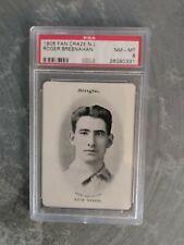 1906 Fan Craze Roger Bresnahan HOF PSA 8