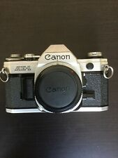 Canon AE-1 AE1 Camera Lot with Extra Lens, Flash, Filters, & More