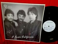 I SANTO CALIFORNIA Q Disco Tornerò LP ITALY 1989 EX