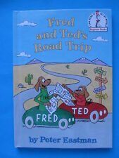 *** New FRED and TED'S ROAD TRIP Kid's Book Beginner Books - FAST Shipping