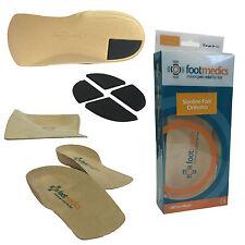 TalarMade Footmedics Quality Slimline Orthotic Firm Pronation Foot Shoe Insoles
