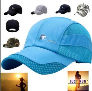 Toutdoors,mens womens lightweight baseball running cap 7 colours uk seller/stock