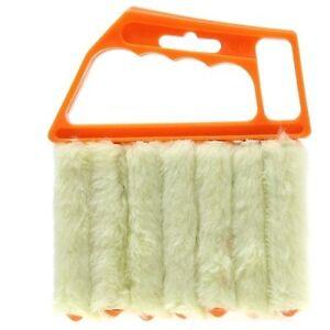 Venetian Blinds Duster Vertical Blind Cleaner Dust Cleaning Prongs Brush Tool S