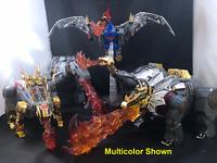 Masterpiece Transformers Dinobot Fire Effect Grimlock Snarl Slag Slug Swoop USA!