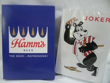 Hamm's Beer Bear Vintage Deck Of Playing Cards St. Paul Minnesota Brewery USA