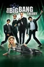 THE BIG BANG THEORY Poster - Cast Full Size 24x36  ~ Penny Leonard Sheldon