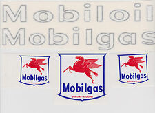 MOBIL GAS CUSTOM TANKER DECAL SET