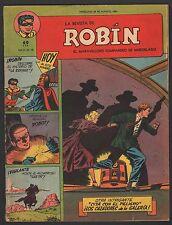 LA REVISTA DE ROBIN # 18 1951 - RARE Argentine Printed COMIC (Robin and Batman)