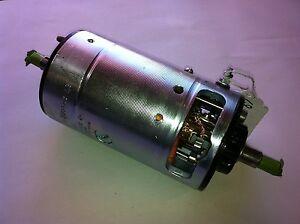 Porsche 356 912 BOSCH Generator Small Case 12 Volt 90mm Restored Dynamo