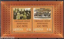 Litouwen 1999 blok 16 100-ste verjaardag opvoering Amerika in Bade cat wrd € 6